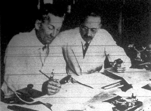 Szent-Györgyi Albert és Rusznyák István