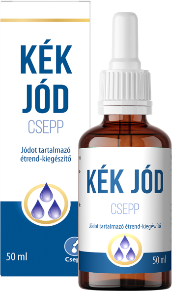 Kek Jod Doboz + Uveg 589
